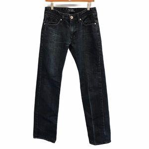 Guess Lincoln slim women's blue denim jeans 30